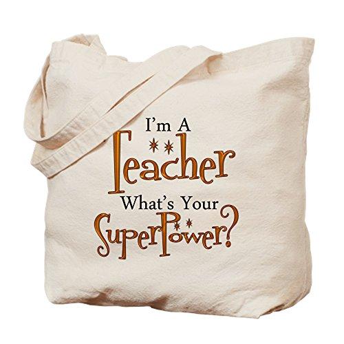 r Lehrer Tasche–Leinwand Natur Tasche, Reinigungstuch Einkaufstasche Tote S khaki (Lehrer-einkaufstaschen Mit Taschen)