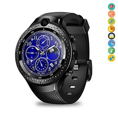 BYBYC Smart Watch 5.0mp Cámara dual 5.0mp Video llamada Entretenimiento Smart Watch Smart Bracelet, Limited