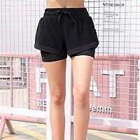 Mujer Pantalones cortos Pantalones cortos de yoga activos para mujeres Pantalones cortos deportivos Pantalones cortos transpirables para mujeres Pantalones cortos para ciclismo Running Pantalones cort