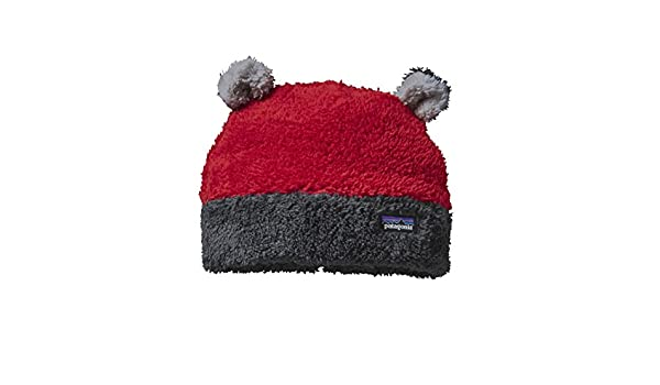 Patagonia Furry Friends Hat - Baby s Classic Red 12 Months  Amazon.co.uk   Clothing 40be88062eaa