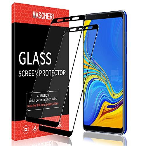 MASCHERI Schutzfolie Für Samsung Galaxy A9 2018 Panzerglas,[2 Stück] Bildschirmschutzfolie Bildschirmschutz Glas Folie Für Samsung A9 2018 - Schwarz