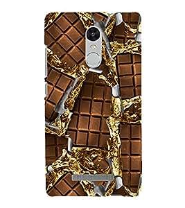 Chocolate 3D Hard Polycarbonate Designer Back Case Cover for Xiaomi Redmi Note 3 :: Xiaomi Redmi Note 3 Pro :: Xiaomi Redmi Note 3 MediaTek