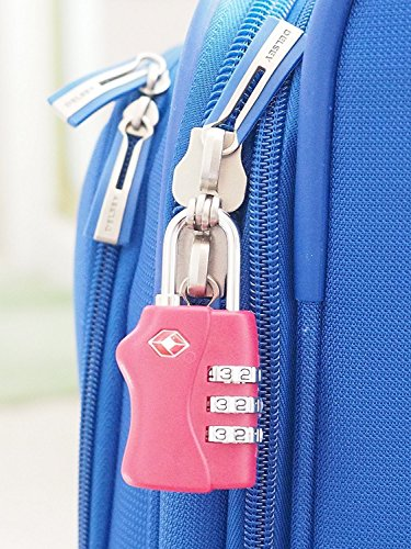 TOY-STATION Multicolor TSA Luggage Locks