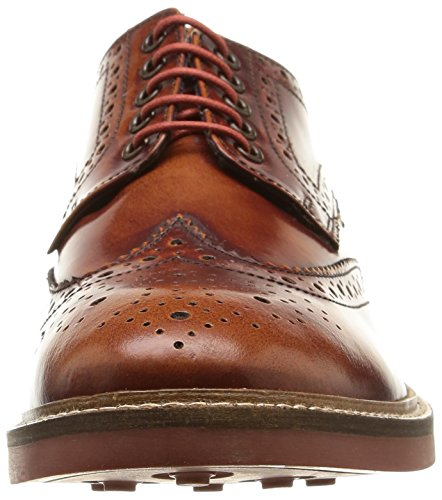 Base London - Woburn, Stringate da uomo Marrone (Marron (Tan Hi Shine))