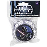 Wilton - STAR WARS Darth Vader 50 Paper Baking Cups