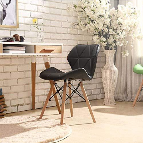 Hhgold sedia da ufficio lavabile pieghevole design moderno sedia da ufficio, sala da pranzo, k-39 * 45 * 84 cm (colore : e, dimensione : 39 * 45 * 84cm)