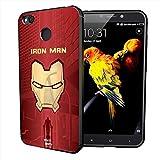 MTT Marvel Iron Man Officially Licensed Tough Armor Back Case Cover for Xiaomi Redmi 4 (Design64)