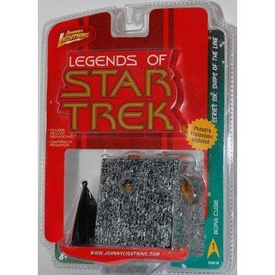 Star Trek Borg Cube Battle Damaged Standmodell von Johnny Lightning