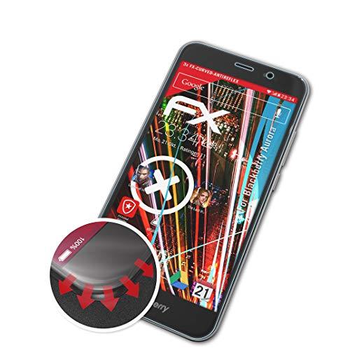 atFolix Schutzfolie passend für BlackBerry Aurora Folie, entspiegelnde & Flexible FX Bildschirmschutzfolie (3X)