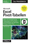 Microsoft Excel Pivot-Tabellen: Das Praxisbuch: Ideen und Lösungen für die Datenanalyse mit PivotTables und PivotCharts mit intensivem Einstieg in PowerPivot für Version 2010, 2013 und 2016