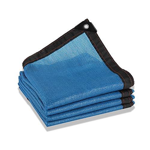 YXX- Blau Schützen Blumen Pflanzen Schatten Netting für Garten 80%, Sunblock Shade Tuch Durable Schnittkante für Autodachabdeckungen (größe : 5x10m)
