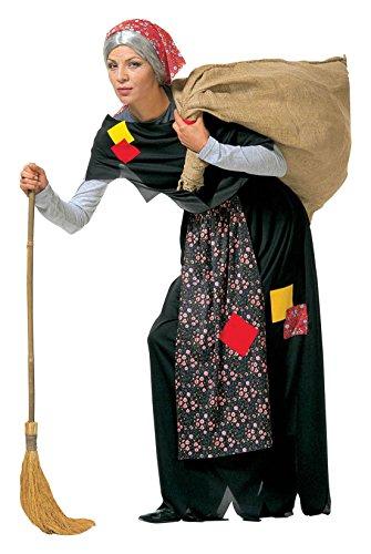 04/L–Kostüm Alte Damen Größe L (Happy Halloween Alten Dame)