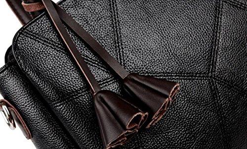 Handtaschen Mutter Tasche Schultertasche Messenger Tasche Mode Wilde Stich Handtasche Einfache Freizeit Grey
