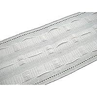 300m Kräuselband 25mm weiß Gardinenband