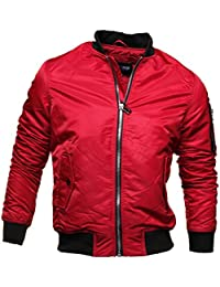 Gov Denim - Blouson 88998 Bombers Rouge