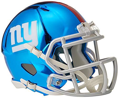 Riddell Mini Football Helm - NFL Chrome New York NY Giants