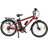 Freego Hawk Road Electric Bike Red 16aH