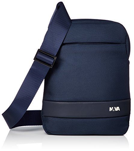 NAVA Slim Bag - Tracollina porta IPad mini blu scuro
