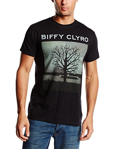 Biffy Clyro - Biffy Clyro Chanderlier, T-shirt da uomo,  manica corta, collo rotondo, nero (Noir (Black)), X-Large