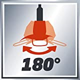 Einhell Elektro-Rasentrimmer GC-ET 4530 Set (Motorkopf 4-fach neigbar & 180° drehbar, Alu-Führungsholm stufenlos teleskopierbar, Flowerguard)