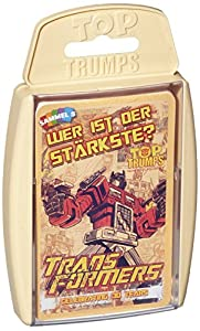 Winning Moves Mueve Exitosas WIN62080 - Top Trumps - Transformers Retro, Juego de Cartas