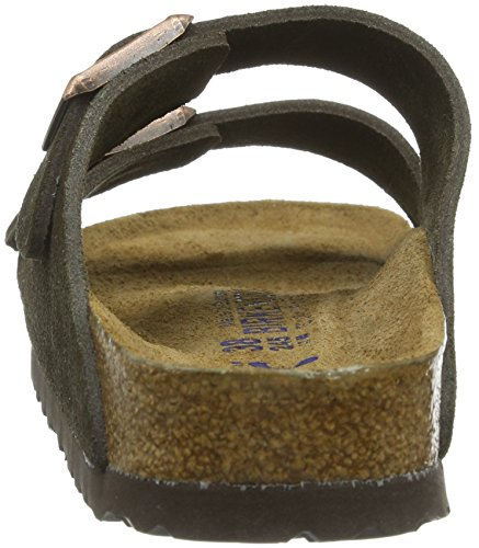 Birkenstock Classic Arizona Unisex - Erwachsene Pantoletten Braun (MOCCA   SOFT FOOTBED)