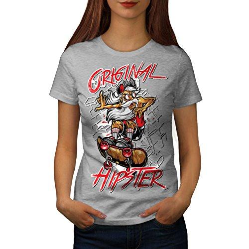 Charakter-jugend-t-shirt (Wellcoda Jahrgang Original Hipster Skateboard Frau S T-Shirt)