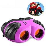 Geschenke für Teen Girls, TOP Spielzeug Shock Proof Compact Fernglas für Kinder Geschenkideen für Teen Mädchen Spielzeug für 3-12 Jahre alte Mädchen lila Mütter Tag Geschenke TTUKTT06