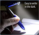 #3: Epyz 4 In 1 Folding Pen With Stylus, Writing Lamp And Mobile Stand (Red)
