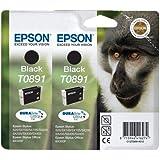 Epson T089140 Black Twinpack