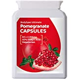 BodySpec Pomegranate Capsules 60 x 2,000 mg (250 mg of 8:1 extract)