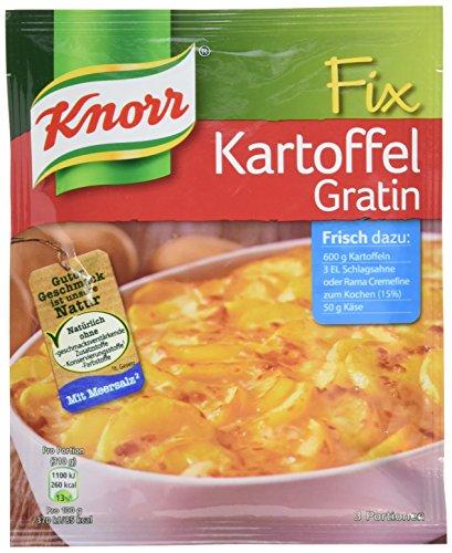 Knorr Fix Kartoffel Gratin 3 Portionen (10 x 37 g)