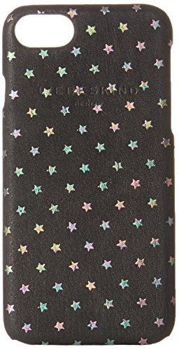 Liebeskind Berlin Damen Dobbyi7w7 Starst Taschenorganizer, Schwarz (Oil Black), 1x7x14 cm (Print Fashion Handtasche Croco)
