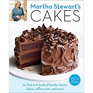 51ckV6X3txL. SS300  - Martha Stewart's Cakes: our first-ever book of bundts, loaves, layers, coffee cakes, and more