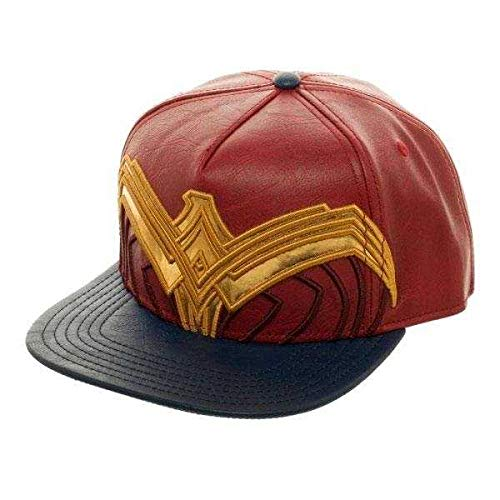 DC Comics Wonder Woman Suit Up Applique Snapback Gorra De Béisbol
