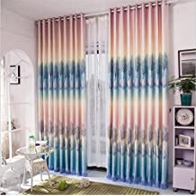 kkll cortinas estilo europeo fantasa romntica impresin de polister reduccin de ruido dormitorio habitacin de matrimonio