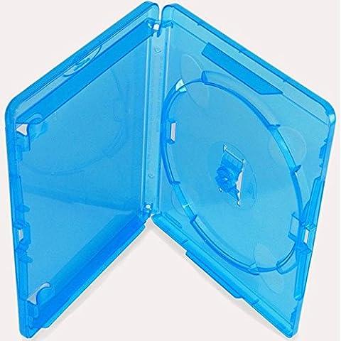 AGI AMARAY 1 X Genuine Amaray Single Blu Ray Case 14mm Spine - Pack of 1