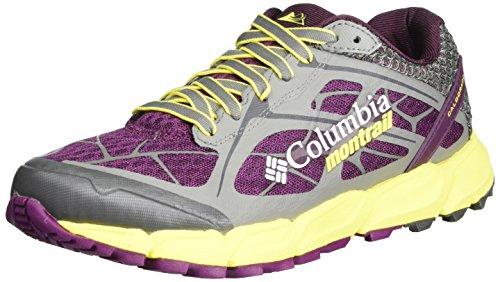 Columbia Caldorado II, Scarpe da Trail Running Donna, Viola (Dark Raspberry, Autzen), 40.5 EU