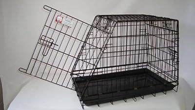 Sloping shaped Single dog car cage GYC03 by Doghealth