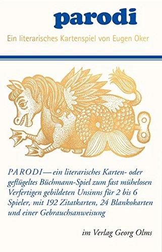 Preisvergleich Produktbild Parodi - ein literarisches Kartenspiel