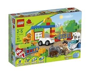 Lego Duplo - 6136 - Lego Ville - Mon Premier Zoo - 60 Pièces (Import Royaume-Uni)