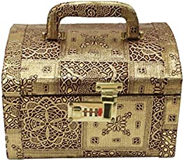 Pride Star Wooden Jewelry Box - Makdi_Golden