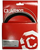 "Clarks Universal Bicycle Bike Brake Cables Kit - Stainless Steel, Shimano and Campagnolo ""BLACK"""