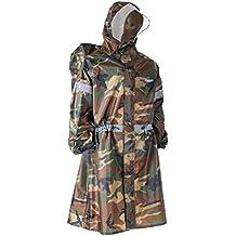 TRIWONDER Mochila Tarp Rain Cover Impermeable Poncho Rain Cape para  Excursionismo al Aire Libre Viajes Camping d53f4c871dc0