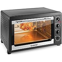 Klarstein Masterchef 60 Mini four (60L, 2500W, régulateur température: max. 230 °C, nombreux accessoires : grill, tournebroche, plaque) - noir