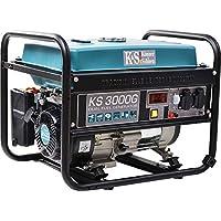 K&S Gas und Benzin | 3 KW Stromaggregat | Generator | KS3000G | Dual Fuel | Stromerzeuger