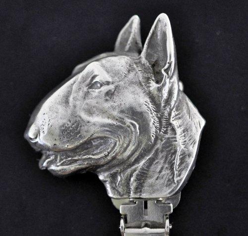 Bullterrier, Hund clipring, Hundeausstellung Ringclip/Rufnummerninhaber, limitierte Auflage, Artdog