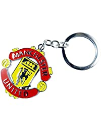 Manchester Logo United Metal Keychain Keyring Best Collectible & Gifting Item