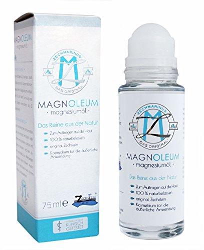 Magnesiumöl Zechstein – reines Magnesiumchlorid im Massage-Roll-on – Massageöl für entspannende Massagen