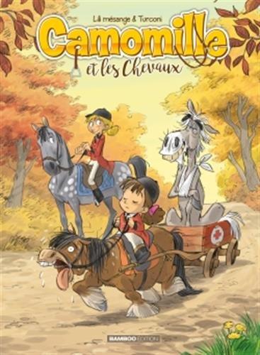 Camomille et les chevaux (6) : Vif comme l'Éclair